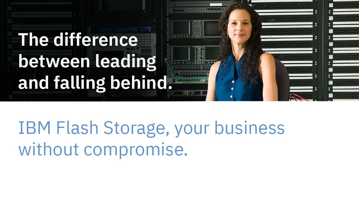 Sistemele de stocare IBM Storwize all-flash
